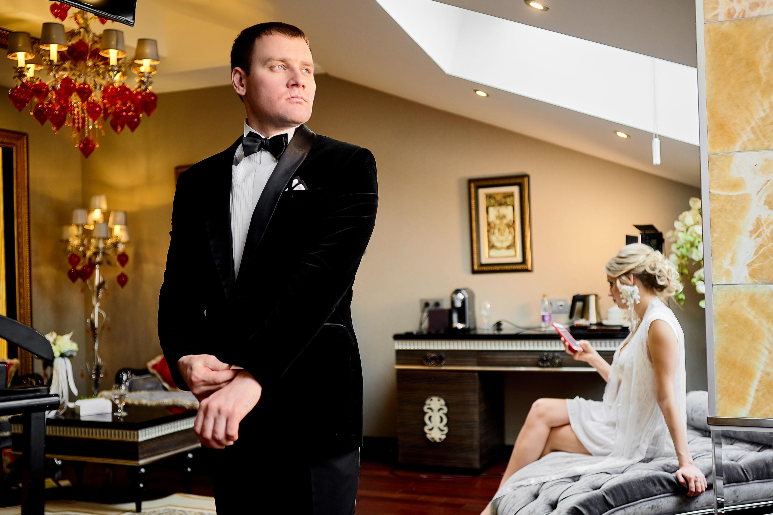 Утро женихая в отеле Маджестик (Majestic Boutique Hotel Deluxe)