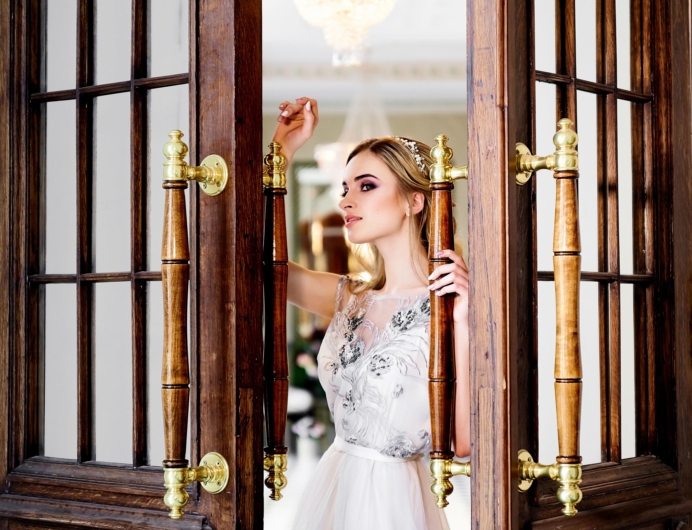 Утро невесты в фотостудии , свадебный фотограф спб