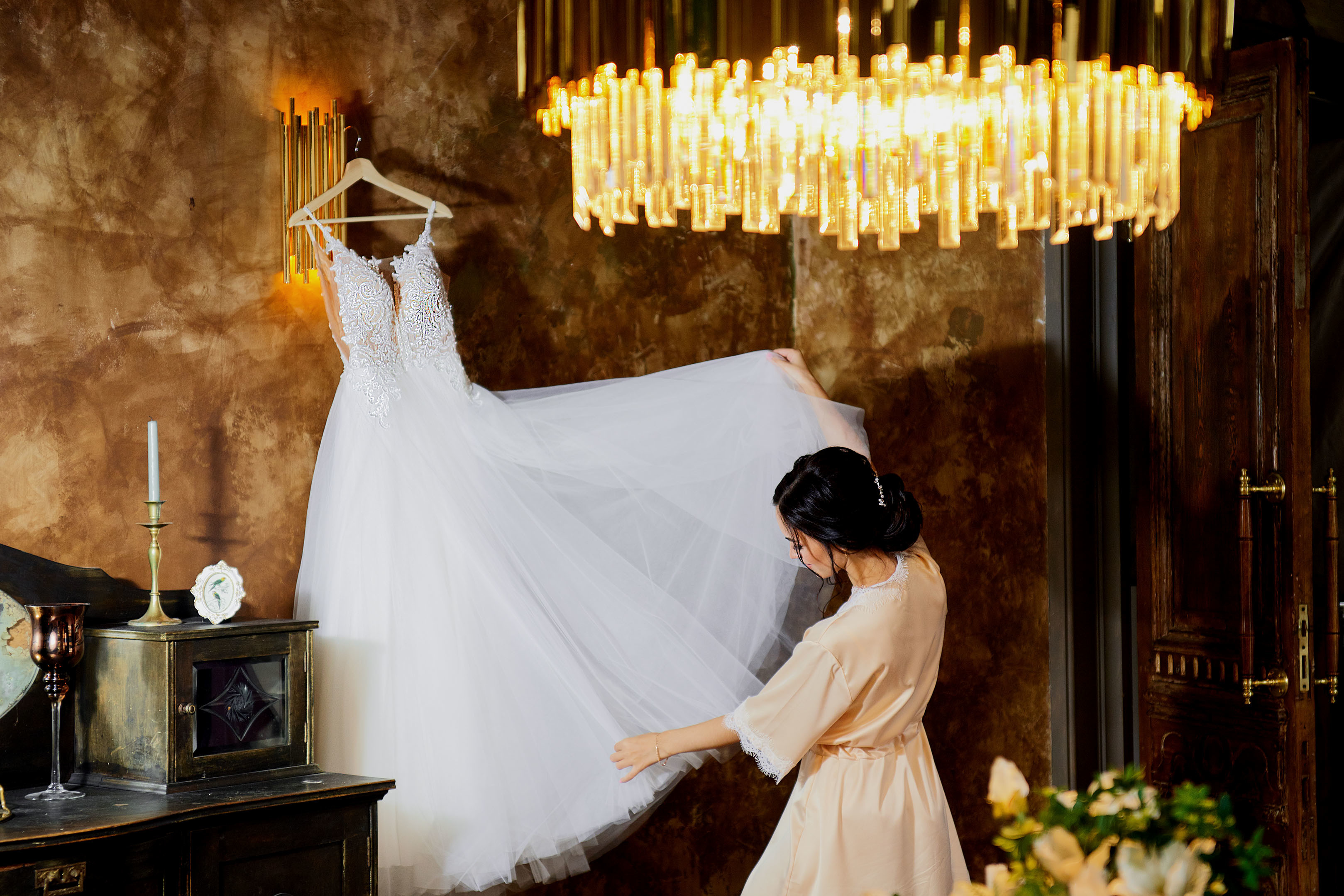 Утро невесты, свадебный фотограф спб