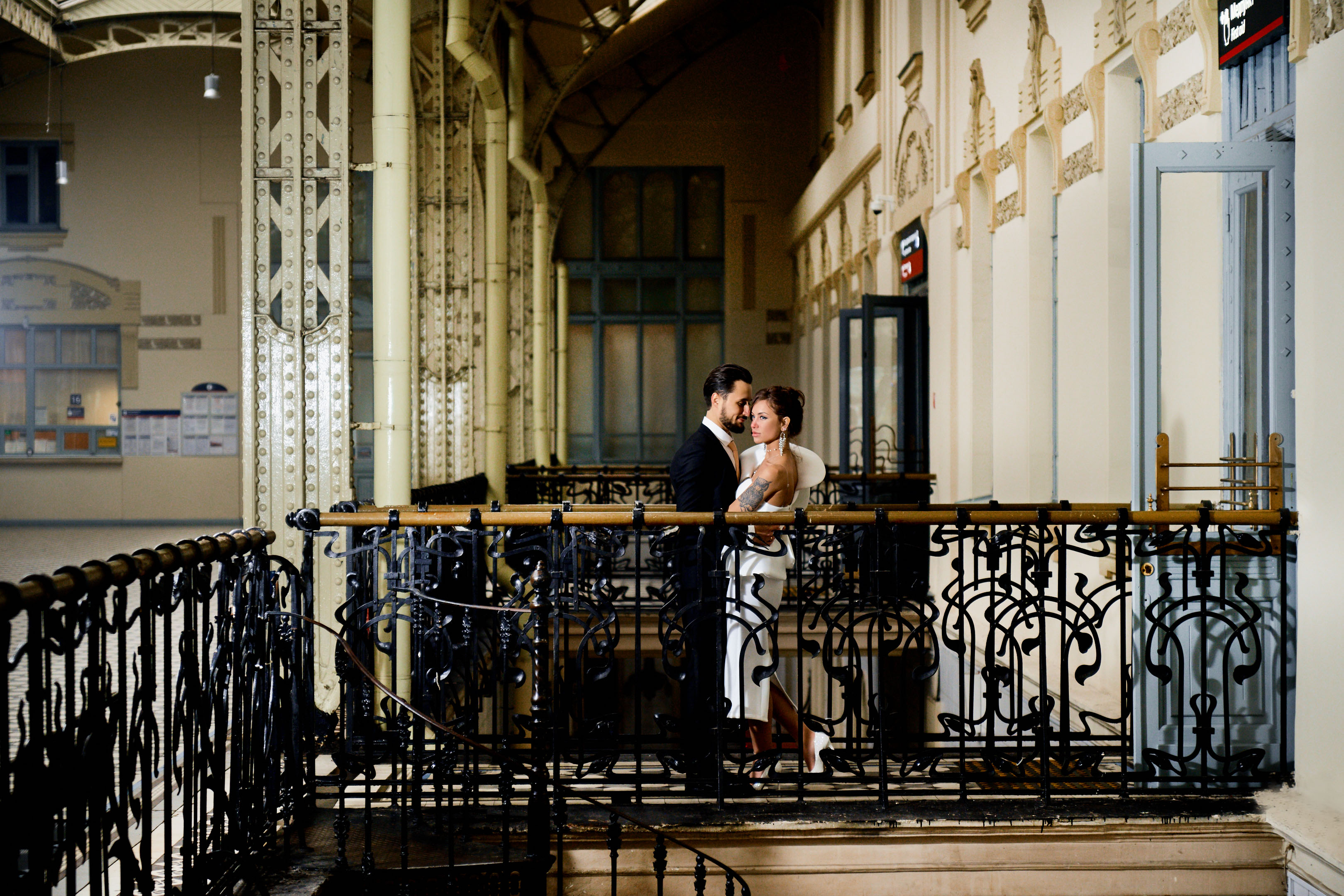 Свадебная фотосессия на Витебском Вокзале
