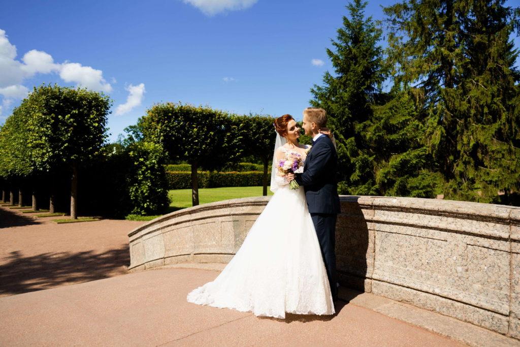 Свадебная фотосессия в Пушкине, в Екатерининском парке