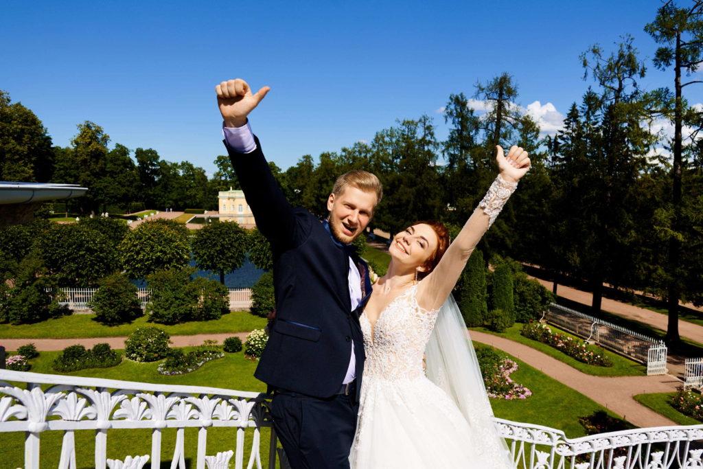 Свадебная фотосессия в Пушкине, Галерея Камеронова