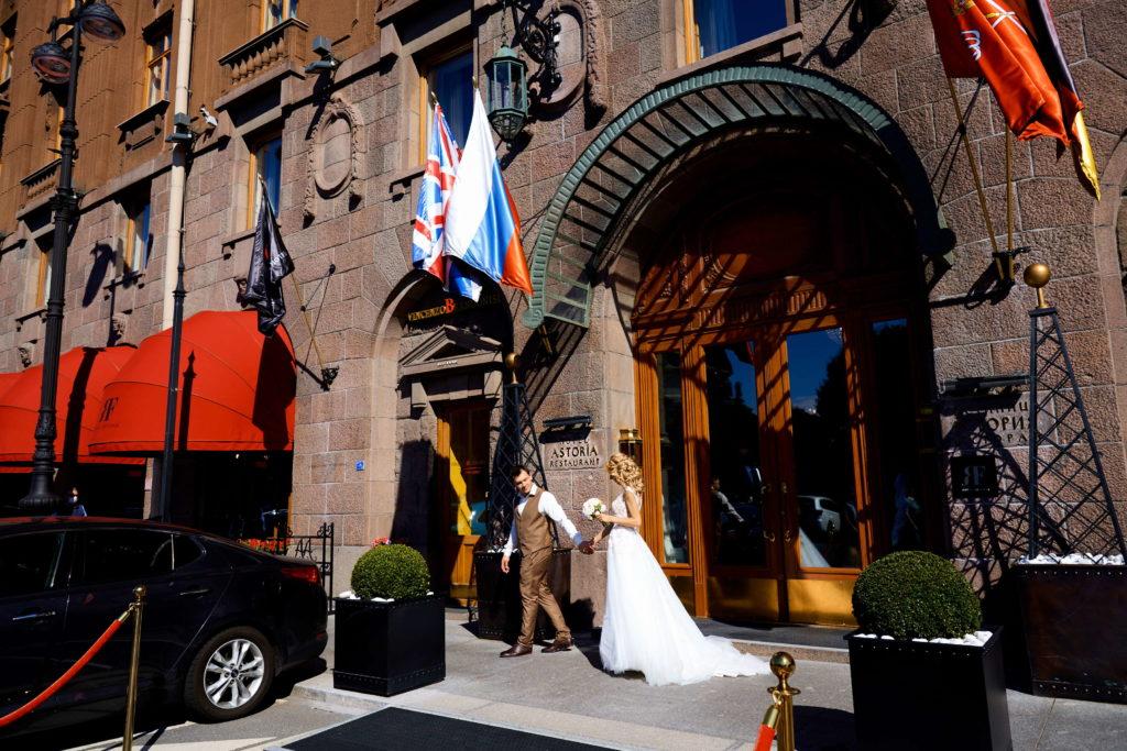 Свадебная фотосессия на Исаакиевской площади