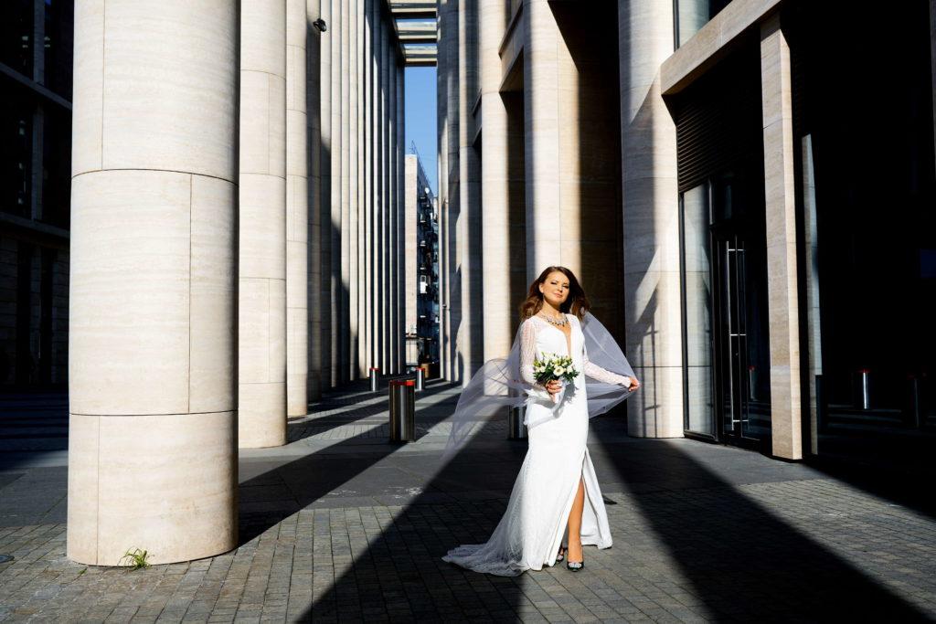 Свадебная фотосессия в Невской Ратуше