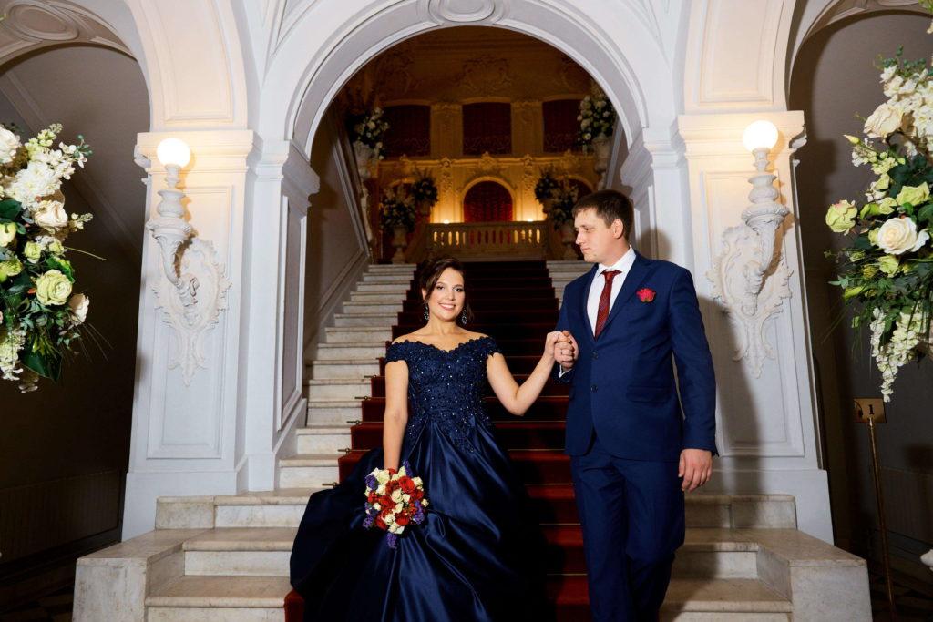 Свадебная фотосессия в Екатерининском Дворце