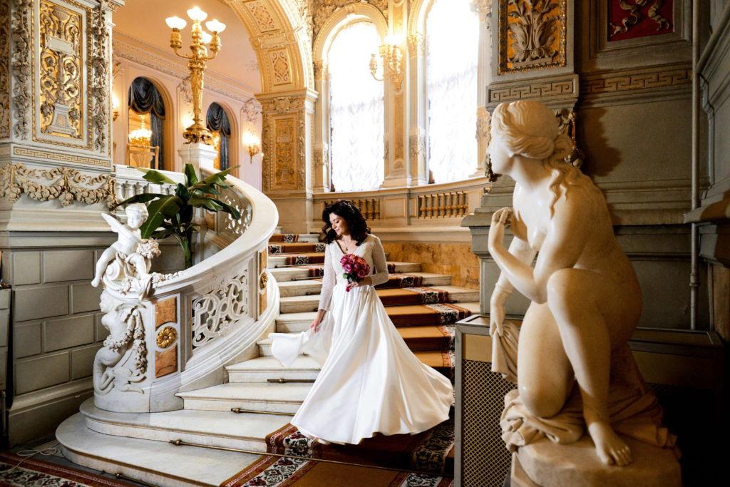 Свадебная фотосессия в Доме Учёных