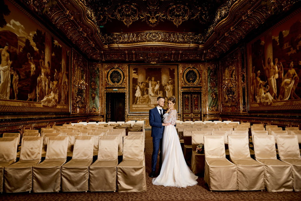 Свадебная фотосессия в Доме Архитектора Половцова