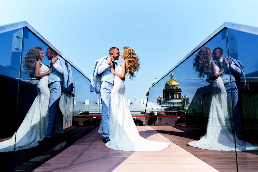 Свадебная фотосессия в Отеле Лотте ( Lotte)