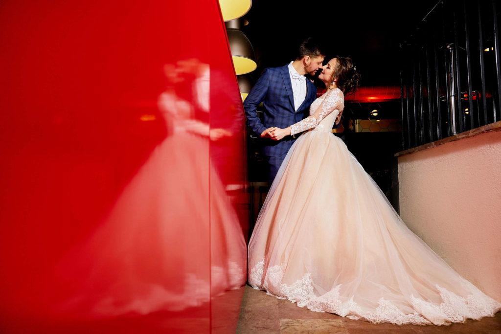 Свадебная фотосессия в Пушкине, ресторан Певченская Башня